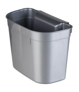 T909205 Hanging bucket in grey polypropylene 5 liters (Pack of 18 pieces)