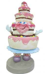 SR062 Torta - torta pubblicitaria 3D per gastronomia altezza 180 cm