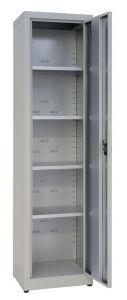 IN-Z.694.03 Armadio Portaoggetti a 1 Anta zinco plastificato  45x40x180 H