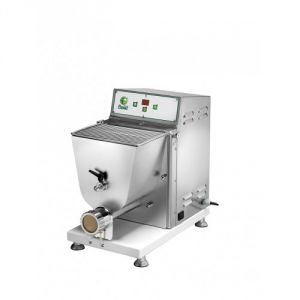 PF40-EM Fresh pasta machine Single-phase 750W 4 kg tank - Refrigerated draw plate