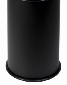 T770901 Bucket for fireproof wastebin Black 90 liters WITHOUT COVER