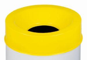 T770566 Coperchio Giallo per corpo gettacarte antifuoco 50 litri SOLO COPERCHIO
