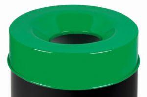 T770968 Coperchio Verde per corpo gettacarte antifuoco 90 litri SOLO COPERCHIO