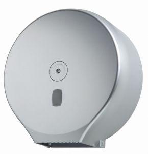 T104405 Distributeur de papier hygiénique en rouleau d'argent ABS 400 mètres