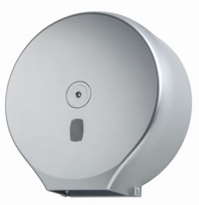 T104405 Toilet paper dispenser in ABS silver roll 400 meters