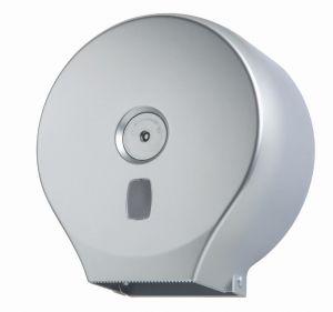 T104401 Dispensador de papel higiénico en ABS plata roll 200 metros