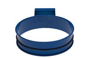 T601001 Soporte para bolsas de basura de acero Azul