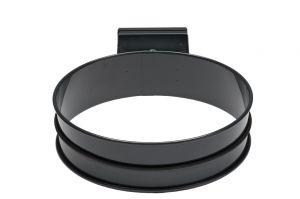 T601002 Support sac-poubelle acier Gris