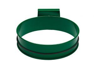 T601003 Soporte para bolsas de basura de acero Verde