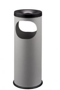 T775022 Grey steel Ashbin 19 liters 2 openings