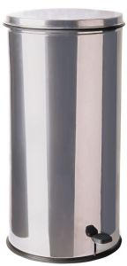T790621 Stainless Steel Pedal waste bin 70 liters