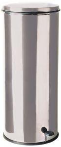 T790626 Stainless Steel Pedal waste bin 50 liters