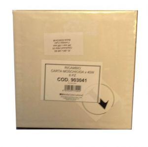 T903041 Ricambio carta moschicida 205x205 mm per Insettivor Fluo 6 fogli