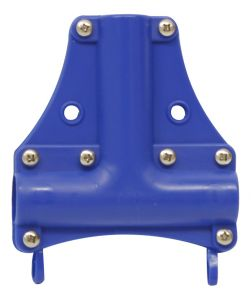 00003561 Placca per Montanti Carrelli Cromati - Blu