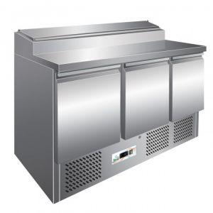 G-PS300 - Ensalada estática refrigerada temp. + 2 ° + 8 ° C capacidad 392 lt