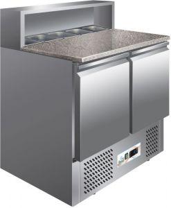 G-PS900 Ensalada de refrigeración estática, encimera de granito