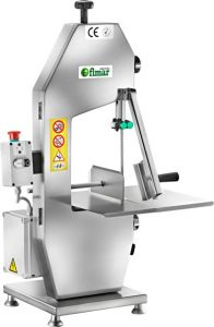 SE1550AT Electric band saw bent aluminum Anodized blade 1550mm - Three-phase