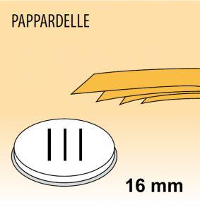 MPFTPA15 Filière en alliage laiton bronze PAPPARDELLE pour machine a pate