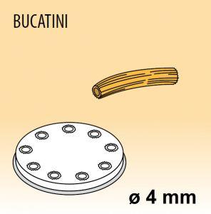 MPFTBU15 Extrusor de aleación latón bronce BUCATINI para maquina para pasta fresca