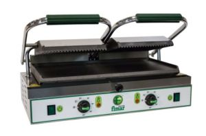 PE50LN Single-phase smooth cast iron cooking grill 3400W single-phase