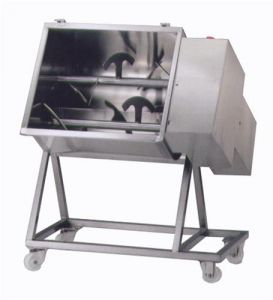 95C2PN Mezclador de carne eléctrico de acero inoxidable 95 kg 2 cuchillas