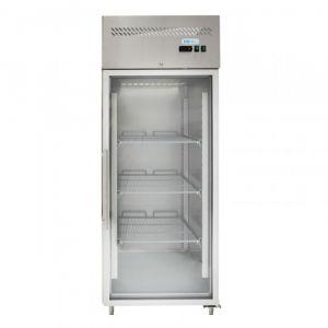 G-GN650BTG-FC Armadio Freezer GN 2/1 Ventilato - Porta a Vetro - Capacità Lt 650