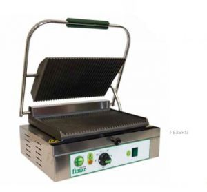 PE35RN Single-phase single-ply 2200W striped cast iron cooking plate
