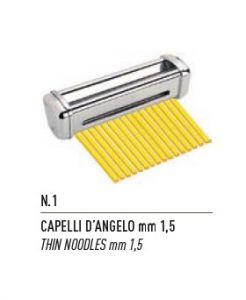 FSE001N -  Taglio a CAPELLI D'ANGELO mm1,5 per Sfogliatrice
