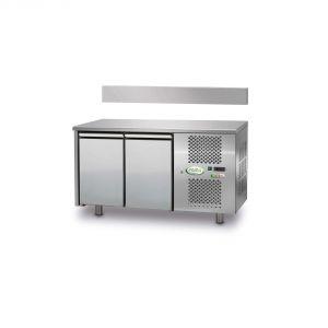 FTRA2TN - Mesa ventilada refrigerada 2 puertas - 0 / + 10 ° - CON ELEVADOR