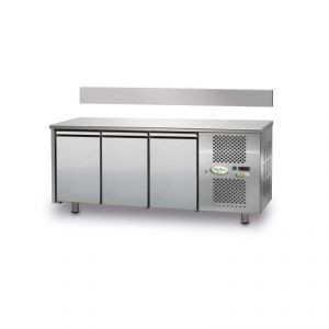 FTRA3TN - Mesa ventilada refrigerada 3 puertas - 0 / + 10 ° - CON ELEVADOR