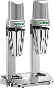 FP2I Frullatore professionale per frappe doppio 2 bicchieri inox