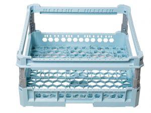 GEN-100107 CESTA BASE MAGLIA LARGA CON RIALZO h 240mm