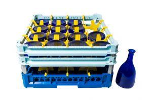 GEN-100135 Cesta speciale per il lavaggio di 16 bottiglie acqua 75cl