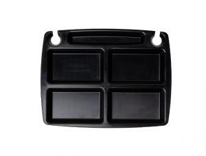 GEN-101003 Vassoio in polipropilene - Collezione Designer - Mini Party - Misure esterne 31x23,5 cm