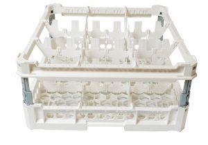 PANIER GEN-K33x3 CLASSIC 9 COMPARTIMENTS CARRÉS - Hauteur de tasse de 120 mm à 240 mm