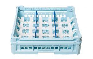GEN-K33x5 PANIER CLASSIQUE 15 COMPARTIMENTS RECTANGULAIRES - Hauteur de tasse de 120 mm à 240 mm