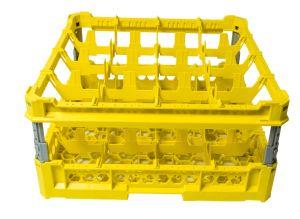 PANIER GEN-K34x4 CLASSIQUE 16 COMPARTIMENTS CARRÉS - Hauteur de tasse de 120 mm à 240 mm