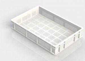GEN-VAS010-FA Vaschetta pasta forata aperta 600x400 Altezza 100mm