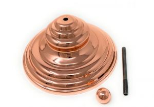 KIT-PIRAM-R  COPPER COLORING pyramidal decorative cover kit (hermetic lid excluded)