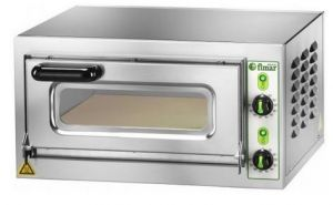 MICROV1C  Small electric oven single chambre 40x40x11h glass door