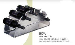 EV02101 BOW - Countertop wine display for bottles ø 8.2 cm
