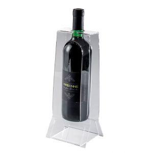 EV04401 EASY 2 Wine display with engraving for bottles ø 8.2 cm