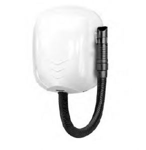 T704550 Wall-mounted hairdryer with hose for intensive use