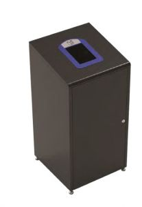 T789021 Waste paper bin for separate waste collection 60 Liters Black
