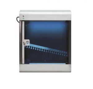T903025 Sterilizzatore di coltelli a raggi UVC in acciaio inox AISI 304 per 20 coltelli