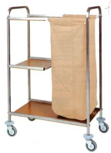 CA1501 Trolley for laundry cleaning multipurpose 79x43x129h