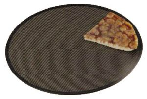 AV4956 Grille de cuisson ronde professionnelle en aluminium pour pizza Ø33cm