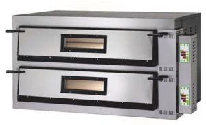 FMD44M Horno de pizza eléctrico 12kW digital 2 habitaciones 72x72x14h cm - Monofásico