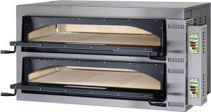 FMDW66M Four électrique pizza numérique 18kW chambre double 108x72x14h cm - monophasé