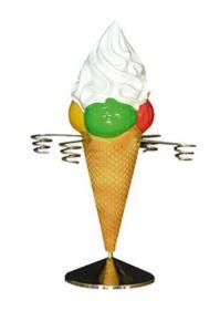 EG022 Helado porta conos de helado altura 40 cm
